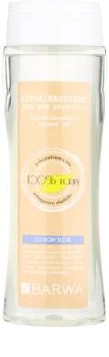 Barwa Natural Hypoallergenic gel de dus pentru piele uscata