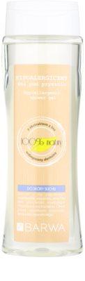 Barwa Natural Hypoallergenic sprchový gel pro suchou pokožku