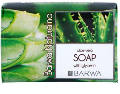Barwa Natural Aloe Vera tuhé mydlo s glycerínom