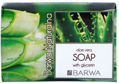 Barwa Natural Aloe Vera туалетне мило з гліцерином