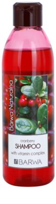Barwa Natural Cranberry champô para dar volume