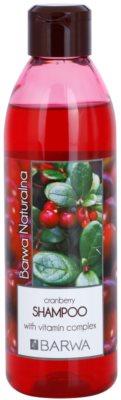 Barwa Natural Cranberry šampon za volumen
