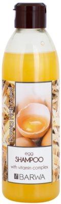 Barwa Natural Egg regeneráló sampon meggyengült hajra