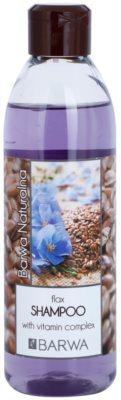 Barwa Natural Flax champô reforçador com vitaminas