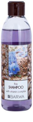 Barwa Natural Flax подсилващ шампоан с витамини