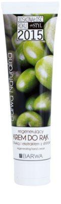 Barwa Natural Green Olive crema regeneratoare pentru maini si unghii