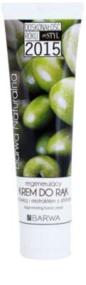 Barwa Natural Green Olive regeneráló krém kézre és körmökre