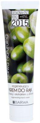 Barwa Natural Green Olive відновлюючий крем для рук та нігтів