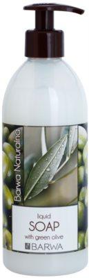 Barwa Natural Green Olive sabonete líquido com efeito rejuvenescedor