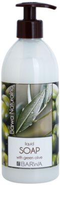 Barwa Natural Green Olive sapun lichid cu  efect de intinerire