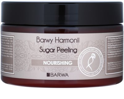 Barwa Harmony Nourishing cukrový peeling pre jemné čistenie a výživu pokožky