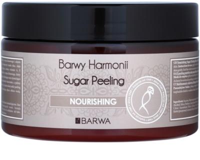 Barwa Harmony Nourishing скраб със захар за нежно почистване и подхранване на кожата