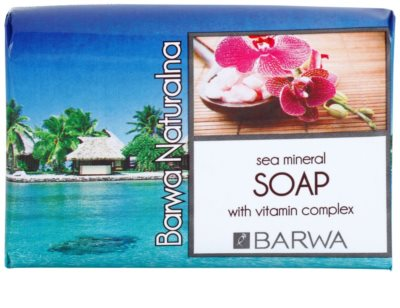 Barwa Natural Sea Mineral tuhé mýdlo s vitamíny