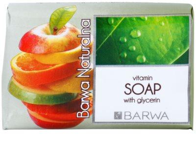 Barwa Natural Vitamins parfümös szappan kisimító hatással