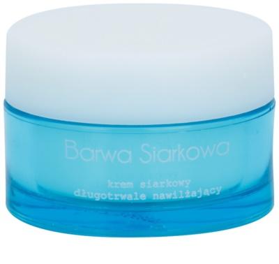 Barwa Sulphur Krém, hosszantartó hidratáló hatás az aknéra hajlamos zsíros bőrre