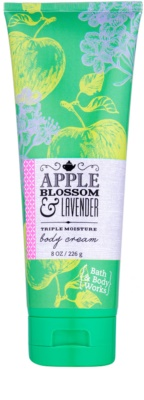 Bath & Body Works Apple Blossom & Lavender crema corporal para mujer