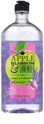 Bath & Body Works Apple Blossom & Lavender гель для душу для жінок