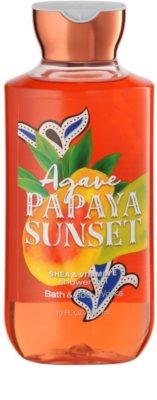 Bath & Body Works Agave Papaya Sunset sprchový gél pre ženy