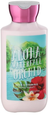 Bath & Body Works Aloha Waterfall Orchid telové mlieko pre ženy