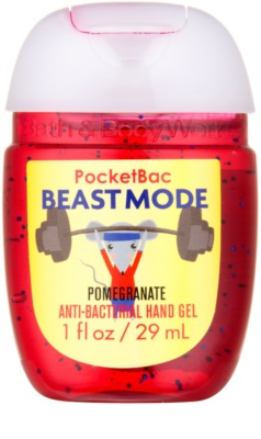Bath & Body Works PocketBac Beastmode Pomegranate антибактеріальний гель для рук