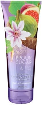Bath & Body Works Brown Sugar and Fig telový krém pre ženy