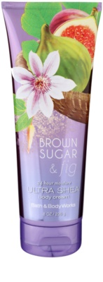 Bath & Body Works Brown Sugar and Fig tělový krém pro ženy