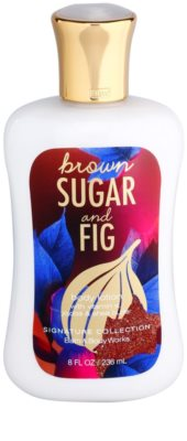 Bath & Body Works Brown Sugar and Fig leite corporal para mulheres