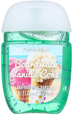 Bath & Body Works PocketBac Boardwalk Vanilla Cone antibakteriální gel na ruce