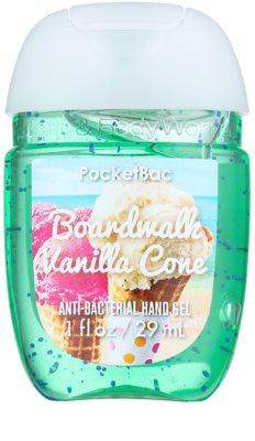 Bath & Body Works PocketBac Boardwalk Vanilla Cone antibakterielles Gel für die Hände