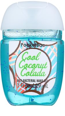 Bath & Body Works PocketBac Cool Coconut Colada Gel antibacterial pentru maini.