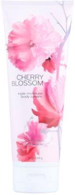 Bath & Body Works Cherry Blossom tělový krém pro ženy