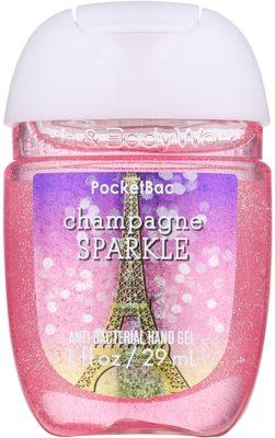 Bath & Body Works PocketBac Champagne Sparkle Gel antibacterial pentru maini.