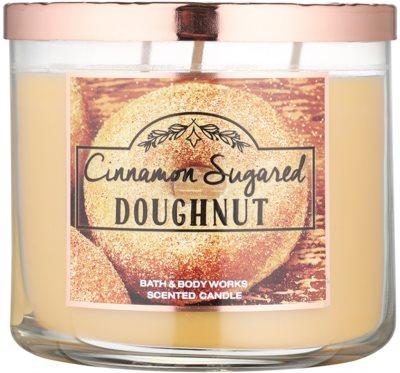 Bath & Body Works Cinnamon Sugared Donut illatos gyertya
