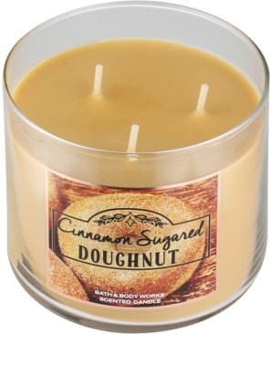 Bath & Body Works Cinnamon Sugared Donut vela perfumado 1
