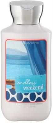 Bath & Body Works Endless Weekend tělové mléko pro ženy