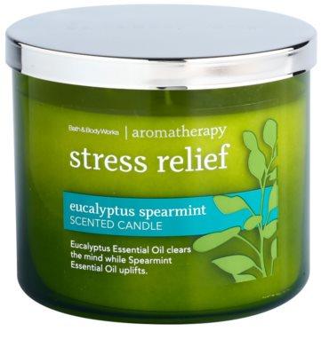Bath & Body Works Eucalyptus Spearmint dišeča sveča