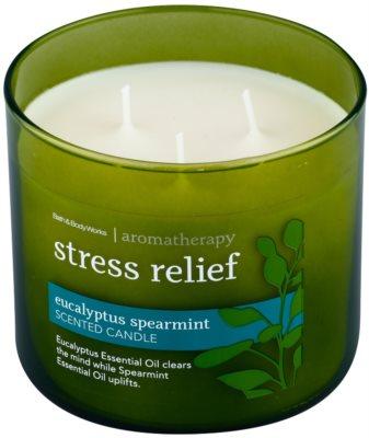 Bath & Body Works Eucalyptus Spearmint dišeča sveča 1
