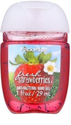 Bath & Body Works PocketBac Fresh Strawberries Gel antibacterial pentru maini.