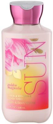 Bath & Body Works Golden Magnolia Sun тоалетно мляко за тяло за жени