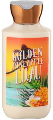 Bath & Body Works Golden Pineapple Luau tělové mléko pro ženy