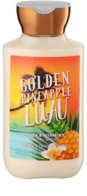 Bath & Body Works Golden Pineapple Luau testápoló tej nőknek