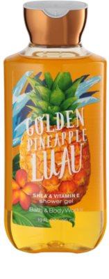 Bath & Body Works Golden Pineapple Luau Duschgel für Damen