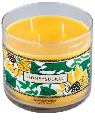 Bath & Body Works Honeysuckle ароматна свещ 1