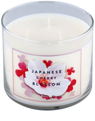 Bath & Body Works Japanese Cherry Blossom lumanari parfumate 1
