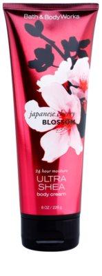 Bath & Body Works Japanese Cherry Blossom крем для тіла для жінок  з олією каріте