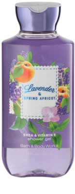 Bath & Body Works Lavander & Spring Apricot душ гел за жени