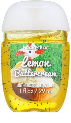 Bath & Body Works PocketBac Lemon Buttercream Gel antibacterial pentru maini.
