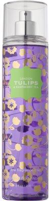 Bath & Body Works London Tulips & Raspberry Tea spray de corpo para mulheres