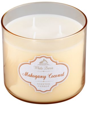 Bath & Body Works Mahagony Coconut vela perfumado 1