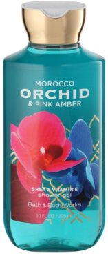 Bath & Body Works Morocco Orchid & Pink Amber gel de duche para mulheres